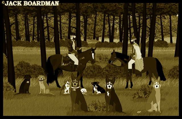 Canines and wolves brought Simmons to AJ ©2012 Jack Boardman