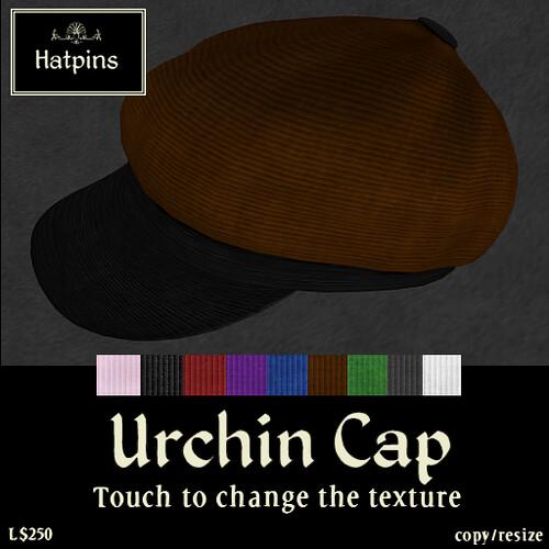 Hatpins - Urchin Cap - Multicoloured