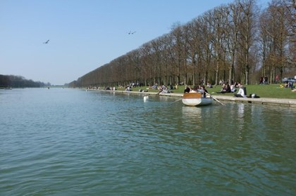 boating @ the Gardens of Versailles