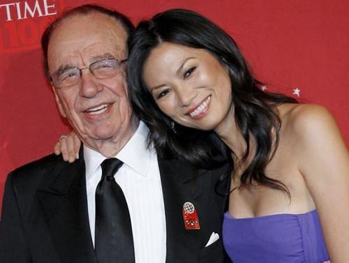 Rupert Murdoch & Wife