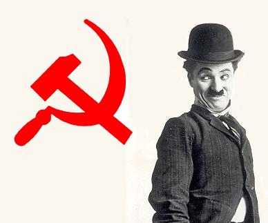 Marx. Lenin. Charlie Chaplin.