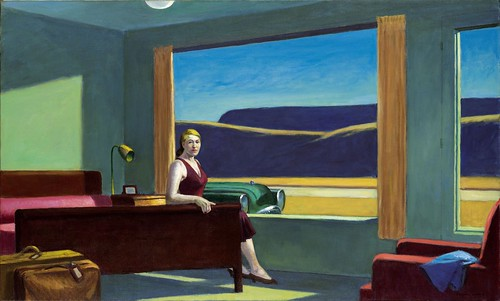 """Western Motel"" (1957), de Edward Hopper - Foto: mr.gian, en Flickr"