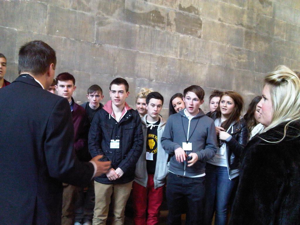 Economics Students Visit Parliament