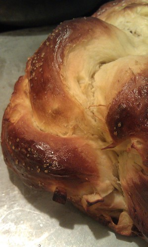 Apple Honey Challah bread by pipsyq