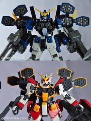 MG 1-100 Gundam HeavyArms EW Unboxing OOTB Review (119)