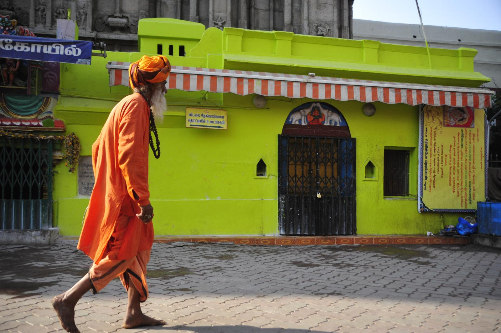 colorful contrast in Marvelous Madurai