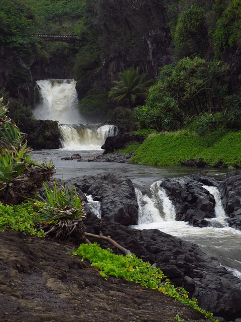 Seven Sacred Pools in Maui