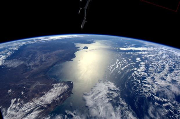De Argentijnse kustlijn.