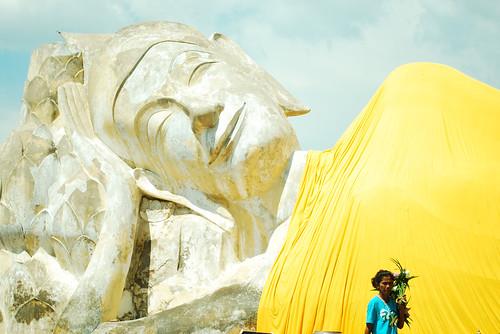 Sleeping Buddha in Ayutthaya