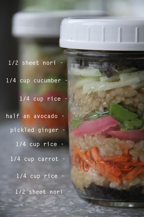 Sushi ze słoika