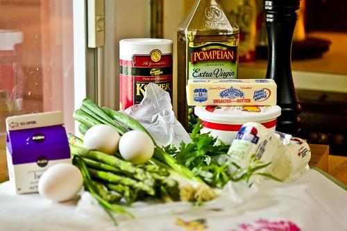 Spring Vegetable & Goat Cheese Tart 21