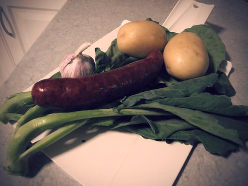 caldo verde-ingredients