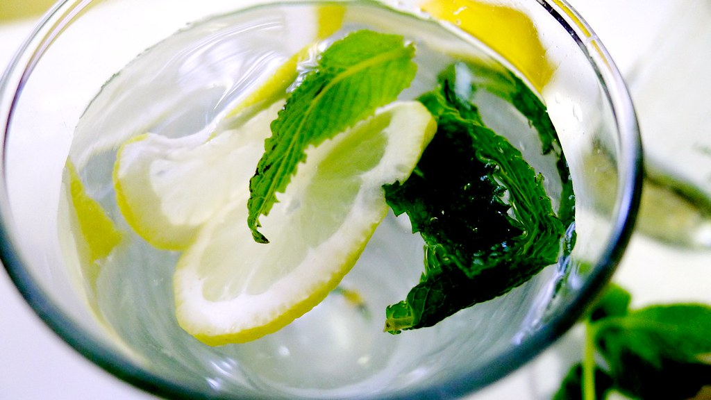Mint Lemon Water Recipe