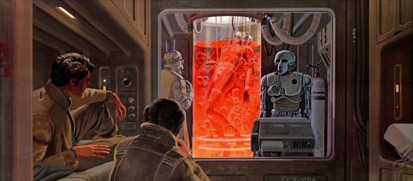 Monster Brains Ralph Mcquarrie - Star Wars Paintings