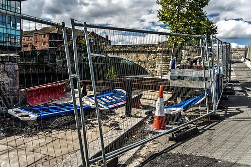 Ringsend Bridge  - Fitzwilliam Quay (Along The River Dodder) by infomatique