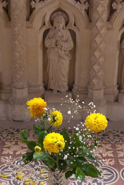 Una ofrenda floral
