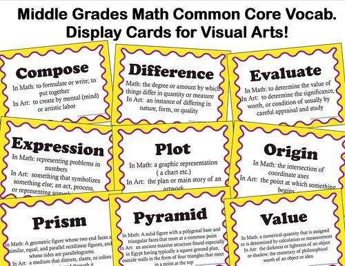 middle grades math common core advert