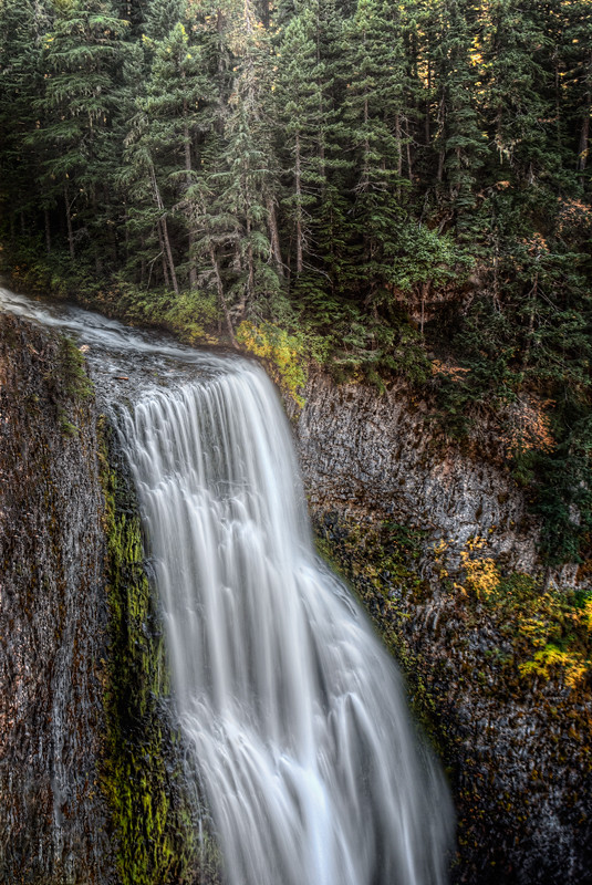 Salt Creek Falls HDR