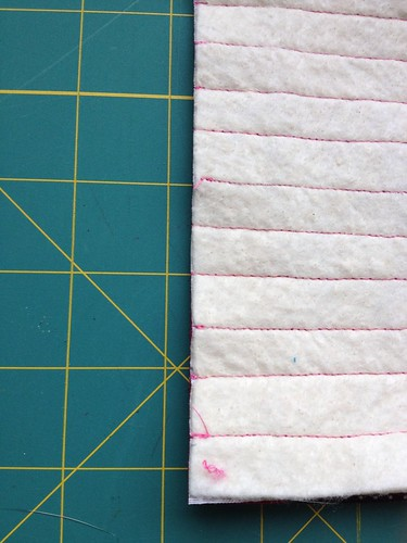 Snap Pouch Tutorial Edge Trimming - After