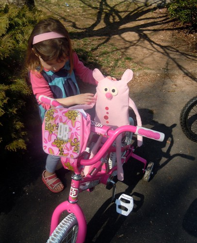 New Pink Guy tries out New Pink Bike