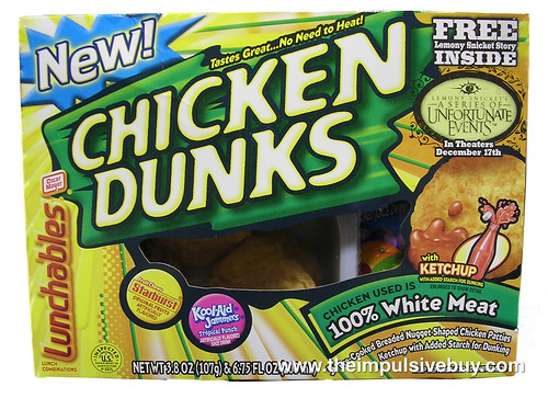 Oscar Mayer Lunchables Chicken Dunks