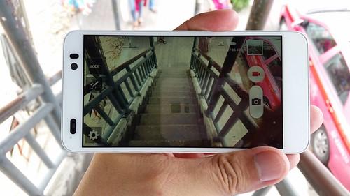 User Interface กล้องของ i-mobile IQX Ken