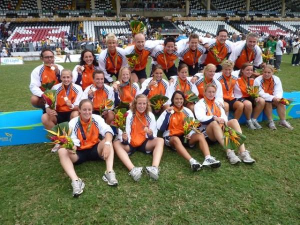 Brons voor het Nederlands Militair dameselftal op het WK 2011