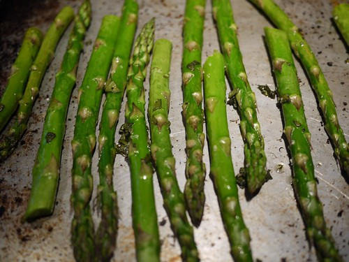 Roasted Asparagus Salad - Roasted