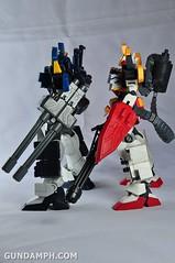 MG 1-100 Gundam HeavyArms EW Unboxing OOTB Review (126)
