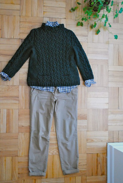 a very wearable sweater
