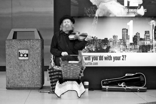 Subway Fiddler