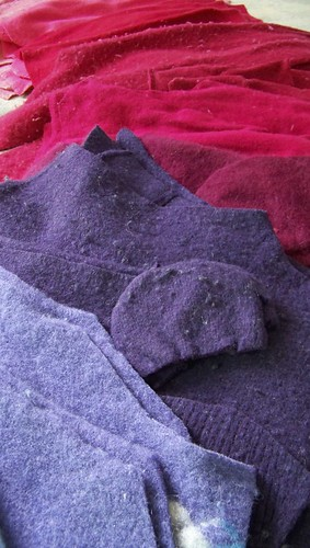 Doodle's Felted Wool Afghan - Part 1