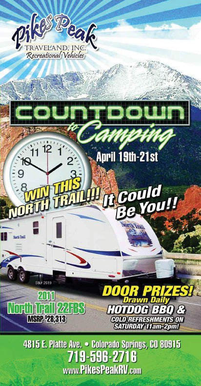 Countdown to Camping Sales Event April 19-21
