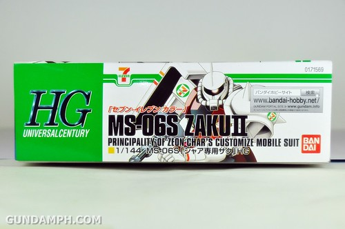 HG 1-144 Zaku 7 Eleven 2011 Limited Edition - Gundam PH  (2)