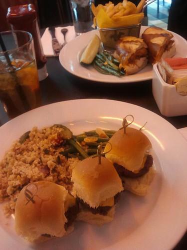 Lunch at David Burke's in Bloomingdales