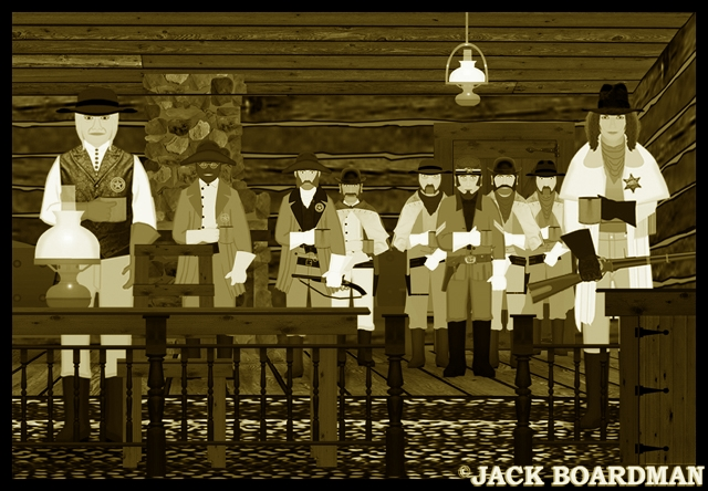 The prisoners at the marshal's office ©2012 Jack Boardman