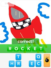 ROCKET, Draw Something App