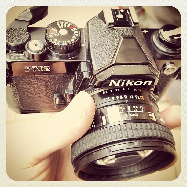 My new toy - Nikon FM2