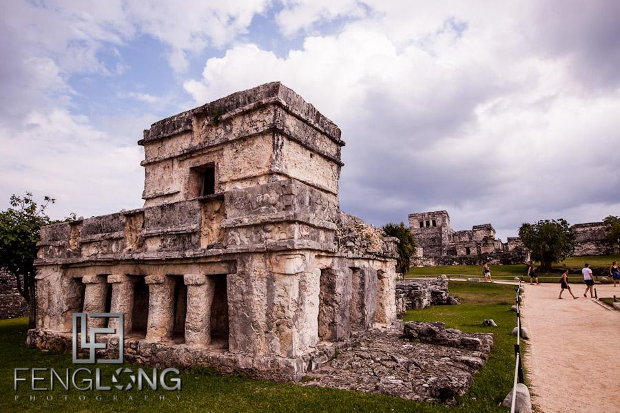 Mayan Ruins at Tulum | Jessica & John's Destination Wedding | Playa del Carmen, Mexico | Riviera Maya Quintana Roo Destination Wedding Photographer