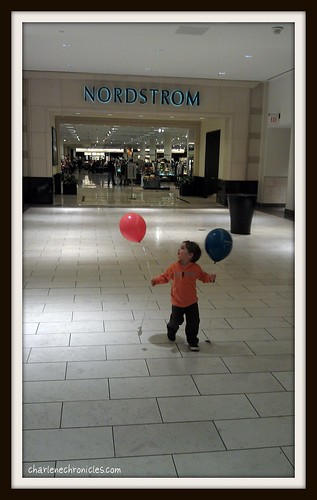 Balloons and Nordstrom