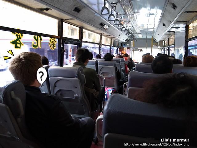 搭著客運前往鹿港,看似輕鬆,但其實時間變得不好掌握。