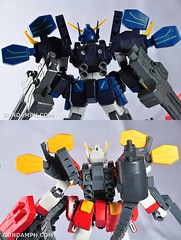 MG 1-100 Gundam HeavyArms EW Unboxing OOTB Review (132)