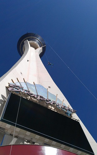 jumping off the stratosphere