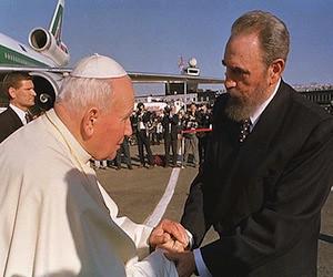 Recibimiento oficial a Juan Pablo II