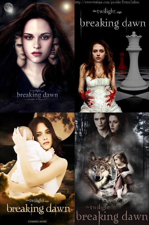 Breaking Dawn Posters
