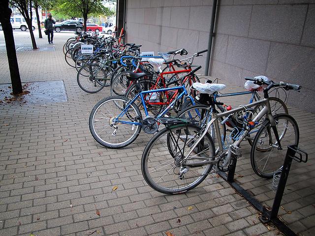 More SXSW Bike Parking