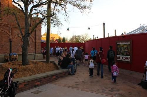 Fantasyland Train Station - Storybook Circus