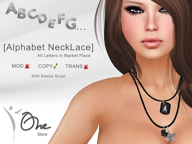 Alphabet NeckLace (Visit Marketplace Store and find your letter!)