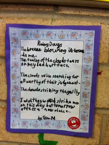 A poem by Tom