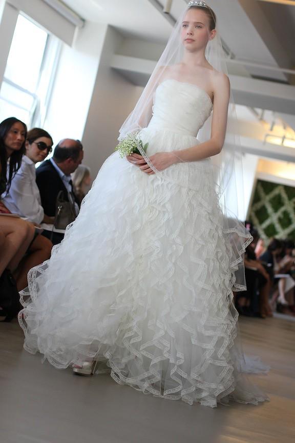 Oscar de la Renta Bridal 2013 98